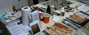 artist in action table